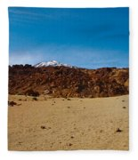 Teide Nr 15 Fleece Blanket