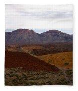 Teide Nr 2 Fleece Blanket