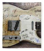 Telecaster Guitar Fantasy Fleece Blanket
