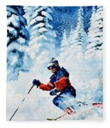Telemark Trails Fleece Blanket