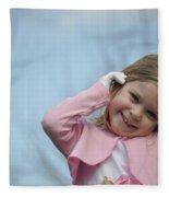 Tell Me A Secret Fleece Blanket