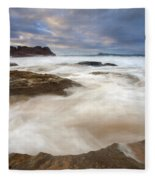 Tempestuous Sea Fleece Blanket