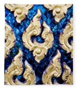 Temple Detail Fleece Blanket