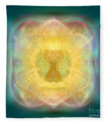 Temple Fire Chalice Fleece Blanket
