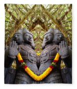 Temple God Fleece Blanket