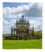 Temple Of The Four Winds Fleece Blanket