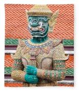 Temple Warrior Fleece Blanket