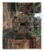 Temples Siem Reap Cambodia Worship  Fleece Blanket