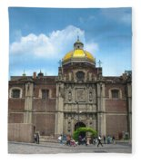 Templo Expiatorio A Cristo Rey - Mexico City Fleece Blanket