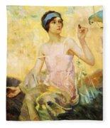 Tempting Sweets 1924 Fleece Blanket