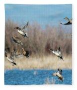 Ten Aloft Fleece Blanket