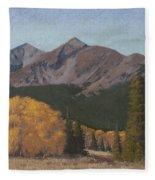 Ten Mile Autumn Fleece Blanket