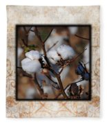 Tennessee Cotton II Photo Square Fleece Blanket
