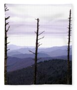 Tennessee Mountains Fleece Blanket
