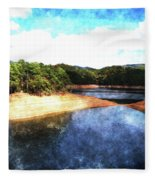 Tennessee Reservoir Fleece Blanket