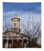 Tennessee State Capitol Building Fleece Blanket