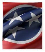 Tennessee State Flag Fleece Blanket