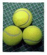 Tennis Anyone Fleece Blanket