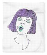 Tentatongue Fleece Blanket