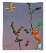 Tenuous Still-life 3 Fleece Blanket