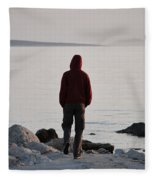 Terminal Beach Fleece Blanket