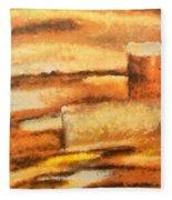 Terra Rossa Fleece Blanket