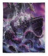 Terror From The Deep Fleece Blanket
