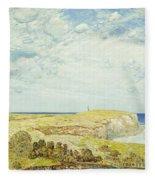 Montauk Point, 1922 Fleece Blanket