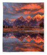 Teton 4 Fleece Blanket