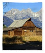 Teton Barn 4 Fleece Blanket