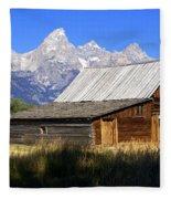 Teton Barn 5 Fleece Blanket