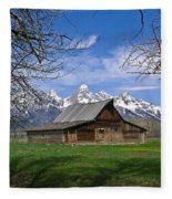 Teton Barn Fleece Blanket
