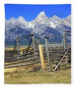 Teton Corral Fleece Blanket
