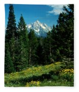 Teton Meadow Fleece Blanket