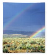 Teton Rainbow Fleece Blanket