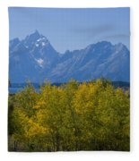 Teton Range Fleece Blanket