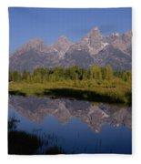 Teton Sunrise 2 Fleece Blanket