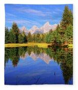 Teton Tranquility Fleece Blanket