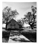 Texas Country Church Fleece Blanket