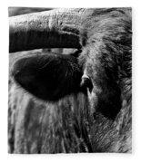 Texas Longhorn Bulls Eye Fleece Blanket