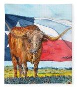 Texas  Fleece Blanket