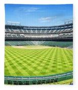Texas Rangers Ballpark Waiting For Action Fleece Blanket