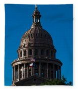 Texas State Capitol Fleece Blanket
