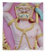 Thai Temple Art I Fleece Blanket