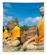 Thailand, Ayathaya Fleece Blanket