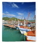 Thailand, Koh Phangan Fleece Blanket