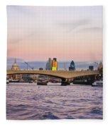 Thames Glow Fleece Blanket