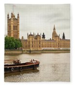 Thames Fleece Blanket