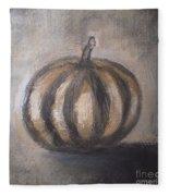 Thanksgiving - Pumpkin Fleece Blanket