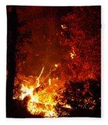 That Ain't No Campfire Fleece Blanket